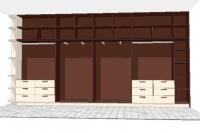προμήθεια  επίπλωση κατόπιν ατομικού σχεδίου για χώρο γκαρνταρόμπας