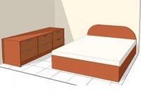 μοντέρνα επίπλωση κρεβατοκάμαρας